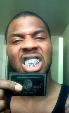 Deshawn Stevenson The Black Card Centurion Card Visa Black Card Luxury Credit Cards