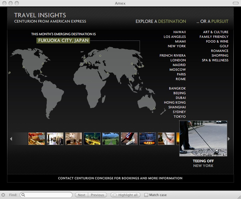 Centurion Concierge Site: Travel Insights | The Black Card ...