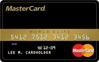 mastercard world elite MasterCard