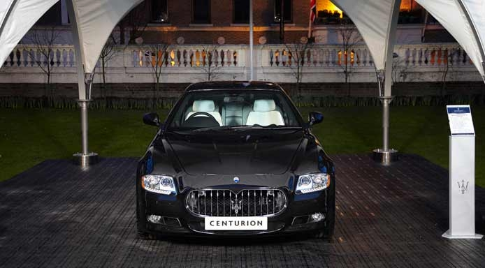 Black Card Centurion Maserati