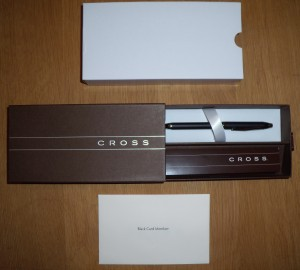 visa black card cross pen gift