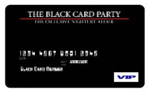 The Black Card Party