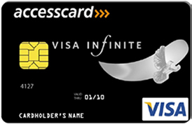 Visa Infinite Black Card Access Bank Africa